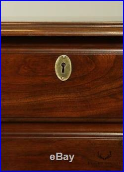 Harden Chippendale Style Cherry Pair 4 Drawer Chests Nightstands