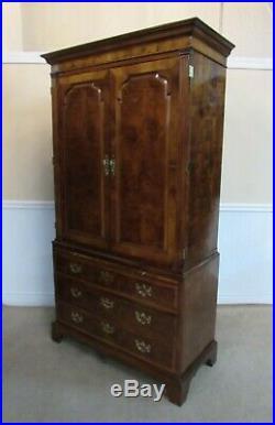 Henredon Aston Court Armoire, Wardrobe, Chest Of Drawers
