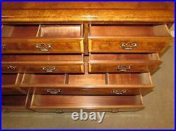 Henredon Aston Court Dresser, 10 Drawer Low Chest