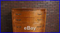 Highboy Dresser Tall Chest of Drawers French Style Tall Chest by Mount Airy
