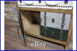 Industrial Wooden Storage Chest Drawers Sideboard Suitcase Styled Colourful