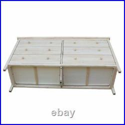 International Concepts Unfinished 6-Drawer Dresser