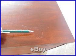 Kittinger Mahogany Chippendale Style 3 Drawer Chest