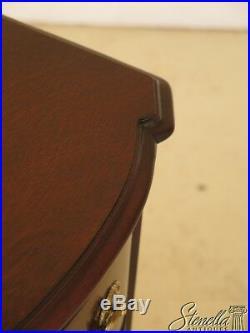 L46086EC KINDEL Banded Mahogany 4 Drawer Chest or Dresser