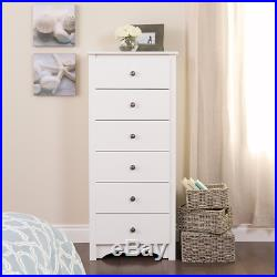 Lingerie Chest Of Drawers Dresser Tall White Clothes Organizer Storage Closet