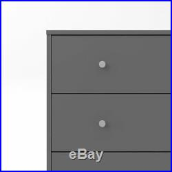May Chest 5 drawers, Grey