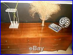 Mid-Century Curved & Straight Front, McCobb/Probber dresser, Chest of Drawers