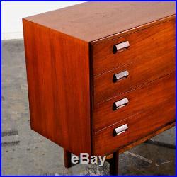 Mid Century Danish Modern Chest of Drawers Dresser Teak Borge Mogensen Søborg M