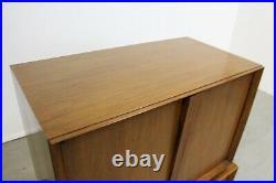 Mid-Century Danish Modern Walnut Tall Chest of Drawers/Dresser