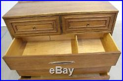 Mid-Century Modern Broyhill Premier Sculptra Tall Dresser/Chest of Drawers