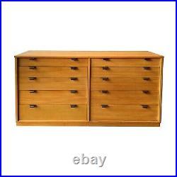 Mid Century Modern Dresser Edward Wormley Drexel Precedent 10 Drawer Chest