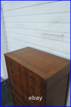 Mid Century Modern Walnut Chest of Drawers by Baker 1323
