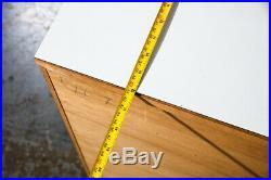 Mid Century modern dresser Chest Drawers Solid Wood Woodland Paul Mccobb White