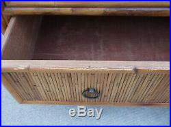 Milling Road (Baker Furniture) Palm Beach Regency Faux Bamboo 7 Drawer Chest