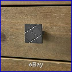 Modern Farmhouse Dresser Chest of Drawers 5 Drawer Cabinet Bedroom Solid Wood