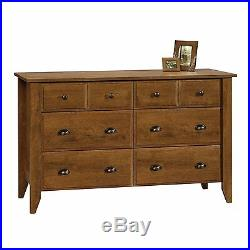 Modern Oak Dresser Chest of Drawers Contemporary Bedroom Furniture Wood Storage