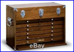 NATIONAL by GERSTNER N-531 11-Drawer Oak Wood Tool Box Chest US Made LAST ONE
