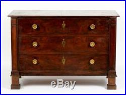 NEW PRICE Baker Mahogany Three Drawer Chest, Dresser