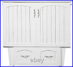 Nantucket Murphy Bed Chest TW WH