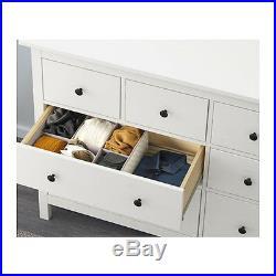 New Chest of 8 drawers HEMNES White 160x96 cm