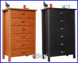 Nouvelle 6 Drawer Dresser Chest 5 colors NEW