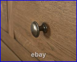 Oak Bedroom Chest Drawers Solid Wood 7 Drawer in Chunky Dorset Country