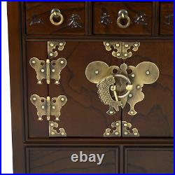 Oriental Furniture Korean Style 18 Drawer Herbal Medicine Chest
