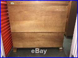 PRISTINE Ethan Allen 18th Century Mahogany 18 Drawer Dresser Chest 22-5425
