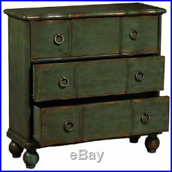 PRI 3 Drawer Accent Chest in Weathered Green