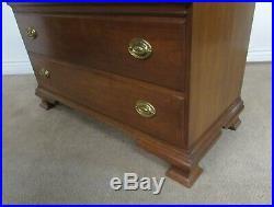 Pennsylvania House Cherry Dresser, 5 Drawer Low Chest