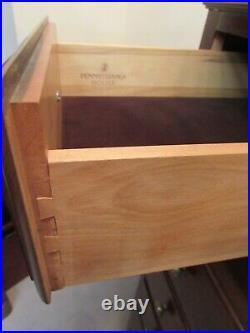 Pennsylvania House Hallmark Cherry Oversize Gentlemans Chest, Dresser 9 Drawer