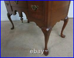 Pennsylvania House Solid Cherry Queen Anne High Boy Chest 11 Drawer Dresser