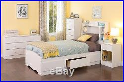 Prepac Astrid Collection 6 Drawer Tall Chest in White Finish, WDBH-0401-1 New