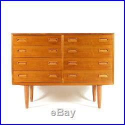 Retro Vintage Danish Teak Hundevad Double Chest of Drawers Dresser 50s 60s 70s