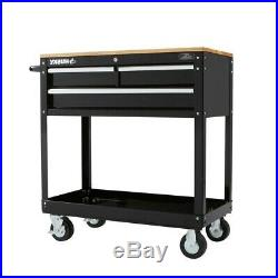 Rolling Tool Cabinet Storage Chest Box Garage Toolbox Organizer Drawer Husky NEW