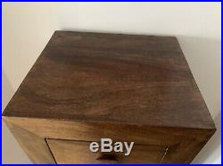 Solid Mango Wood Tall Boy / Chest Of Drawers