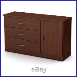 South Shore Libra 3-Drawer Chest with Storage Door