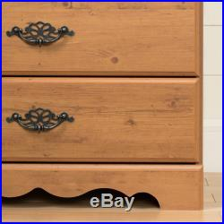 South Shore Prairie 5 Drawer Chest in Country Pine