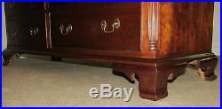 Stickley Cherry Valley Dresser, Nine Drawer Low Chest