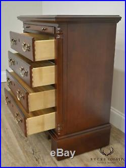 Sumter Cherry Traditional 4 Drawer Chest Nightstand