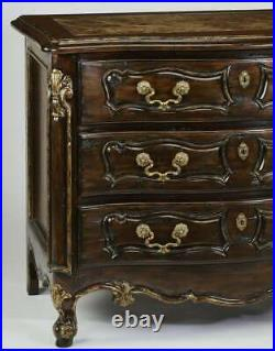 Two (2) Marge Carson Vouvray Marble Top 3 Drawer Chests Nightstands