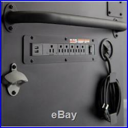 USA HUSKY Heavy-Duty 61 in. W, Deep 10-Drawer 1-Door Tool Chest Mobile Workbench