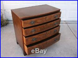 Vintage Baker 4 Drawer Mahogany Chest