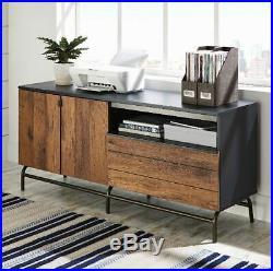 Vintage Credenza Sideboard Buffet Storage Cabinet Chest Drawer Dresser Furniture