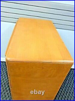 Vintage HEYWOOD WAKEFIELD DRESSER mid century modern 50s chest of drawers Encore
