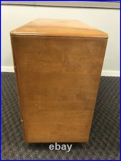 Vintage HEYWOOD WAKEFIELD DRESSER mid century modern lowboy chest drawers Encore