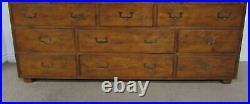 Vintage Henredon Artefacts Dresser, Nine Drawer Low Chest