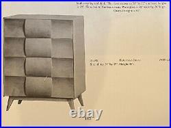 Vintage Heywood Wakefield Kohinoor 4 Drawer Mid-Century Modern Kohinoor Chest