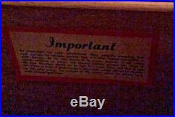 Vintage LANE Mid Century Modern Blonde Aroma-tite Blanket Box Cedar Chest Drawer