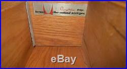 Vtg 1950's MCM George Nelson Herman Miller BCS Tall 5 Drawer Cabinet Dresser
